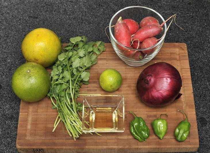 Salpicón de rabanitos para 4 porciones