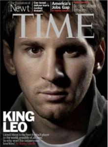 Lionel Messi fue considerado como la persona más influyente del mundo