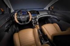 Interior de nuevo Chevrolet Sonic