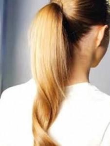 """Ecuación que predice la forma del peinado de """"cola de caballo"""""""