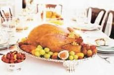 El pavo es el alimento ideal para la cena navideña. Foto: El Universal