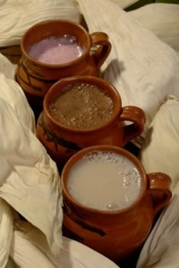Bebidas típicas para acompañar la rosca.