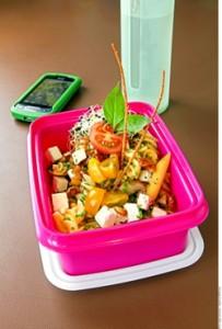 Sustituir antojitos por almuerzos saludables