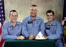 Tripulación del Apolo 1 primeras víctimas espaciales.