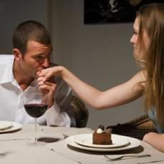 El beso en la mano significa ternura y admiración.