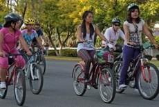 En este tipo de bicicletas la espalda debe ir recta.
