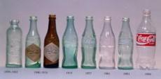 """La botella """"Contour"""" se diseño en 1913 y casi no ha sufrido cambios."""
