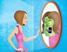 Al observarse en el espejo ven una imagen distinta a la que poseen.