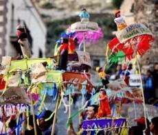 Desfile de los juditas donde se festeja el triunfo del bien sobre el mal.