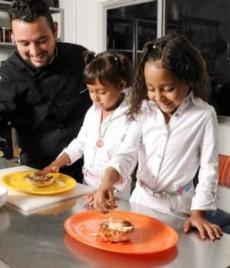 La cocina es ideal para interactuar con los hijos.