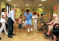 Jugar por mero placer no por competir ni por ganar sino por reír