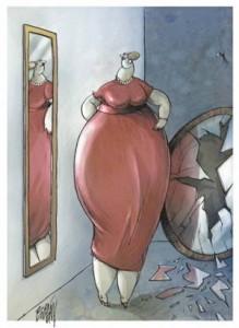Las mujeres obesas ganan hasta 5% menos que las delgadas.