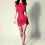Ioana Spangenberg Modelo Rumana con 1.70 mts y 40 kg.