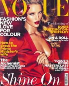 La revista Vogue tuvo una edición dedicada a estos desórdenes alimenticios.