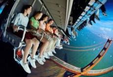 Atracción en la que sentirás una caída libre de 13 pisos en un elevador.