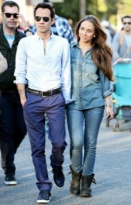 Marc Anthony y Chloe Green