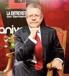 SERGIO SARMIENTO, periodista.