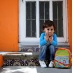 Por desconocimiento de la situación los niños lloran