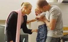 Los padres deben prepararse y brindar seguridad y acortar la despedida.