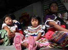 Los niños indígenas son los más afectados.