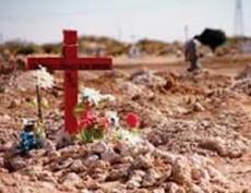 Ya no existe la Cruz del Perdón, adonde iban los que no hallan a sus difuntos.