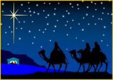 Cristianos vincularon la visita de los reyes Magos para celebrara la Epifanía.