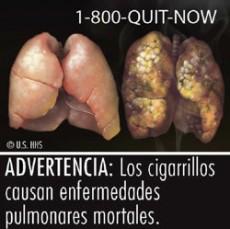 Las imágenes dan mayor impacto y funcionan más para dejar de fumar.