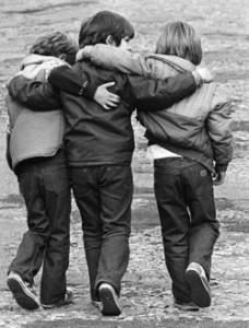 Hay amistades que duran todo lo largo de la vida.